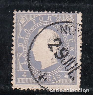 INDIA PORTUGUESA 129B USADA, (Sellos - Extranjero - Europa - Portugal)