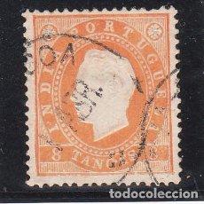 Sellos: INDIA PORTUGUESA 130B ADELGAZADO USADA,. Lote 257314565