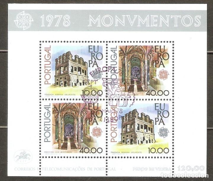 PORTUGAL. 1978. HB. YT 23. MONUMENTOS. EUROPA. CEPT. (Sellos - Extranjero - Europa - Portugal)