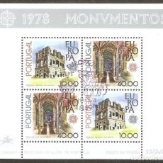 Sellos: PORTUGAL. 1978. HB. YT 23. MONUMENTOS. EUROPA. CEPT.. Lote 257468920