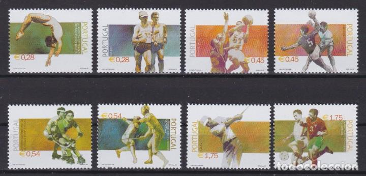 PORTUGAL 2002 - DEPORTES SERIE NUEVA SIN FIJASELLOS (Sellos - Extranjero - Europa - Portugal)