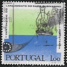 Sellos: PORTUGAL YVERT 1093, BARCOS. Lote 262785400