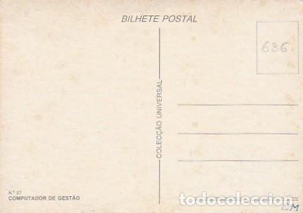 Sellos: Portugal & Maxi, Instrumentos de Trabajo, Gestión Informática, Lisboa 1985 (27) - Foto 2 - 262811195