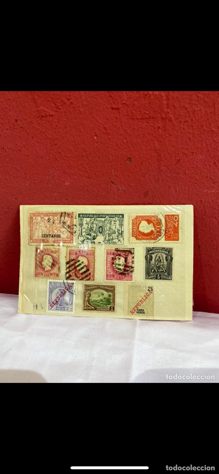 Sellos: Coleccion sellos Portugal y colonias 10 sellos diferentes . Ver fotos - Foto 2 - 263658485