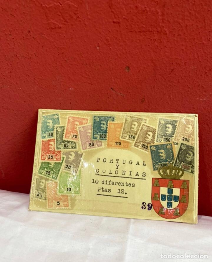 COLECCION SELLOS PORTUGAL Y COLONIAS 10 SELLOS DIFERENTES . VER FOTOS (Sellos - Extranjero - Europa - Portugal)