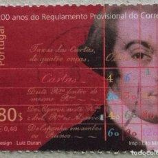 Sellos: 1999. PORTUGAL. 2359. 200 AÑOS DE LA REGULACIÓN DEL CORREO PORTUGUÉS. USADO.. Lote 263726480