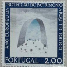 Sellos: 1975. PORTUGAL. 1278. AÑO INTERNACIONAL DE LA PROTECCIÓN DEL PATRIMONIO ARQUITECTÓNICO. NUEVO.. Lote 263726805