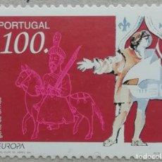 Sellos: 1994. PORTUGAL. 1989. JINETE A CABALLO. NUEVO.. Lote 263727585