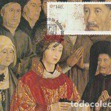 Sellos: PORTUGAL & VI CENTENARIO DEL NACIMIENTO DEL INFANTE D. HENRIQUE, PANELES DE SÃO VICENTE 1994 (141). Lote 268268244