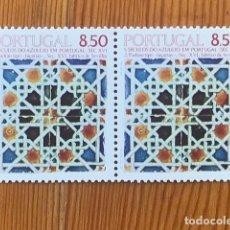 Sellos: PORTUGAL, 1981, AZULEJOS, UNA PAREJA, NUEVOS**. Lote 268876439