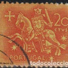 Sellos: PORTUGAL 1953 SCOTT 763 SELLO º CABALLEROS A CABALLO EDAD MEDIA REY DINIZ MICHEL 794 YVERT 776 STAMP. Lote 269121883