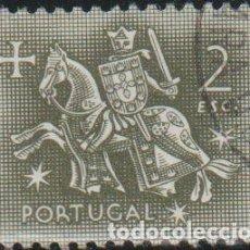 Sellos: PORTUGAL 1953 SCOTT 769 SELLO º CABALLEROS A CABALLO EDAD MEDIA REY DINIZ MICHEL 800 YVERT 782 STAMP. Lote 269122263