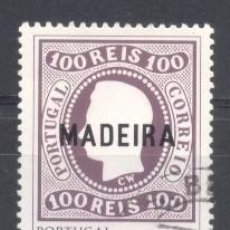 Sellos: MADEIRA, 1980, USADO. Lote 269168278