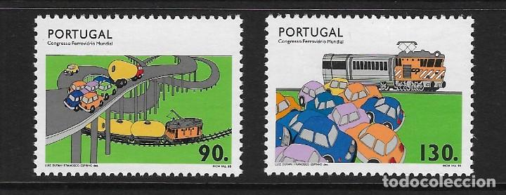 PORTUGAL. YVERT NSº 1956/57 NUEVOS Y UN SELLO DEFECTUOSO (Sellos - Extranjero - Europa - Portugal)