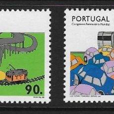 Sellos: PORTUGAL. YVERT NSº 1956/57 NUEVOS Y UN SELLO DEFECTUOSO. Lote 269985708