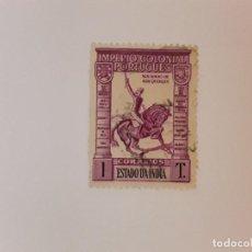Francobolli: PORTUGAL ESTADO INDIO SELLO USADO. Lote 270529963