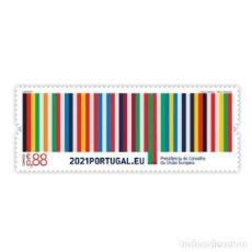 Sellos: PORTUGAL ** & PRESIDENCIA PORTUGUESA DE LA UNIÓN EUROPEA, 2021 (7786). Lote 271034053
