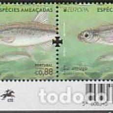 Sellos: PORTUGAL ** & CEPT EUROPA, ESPECIES EN PELIGRO, SARAMUGO, ANAECYPRIS HISPANICA 2021 (77686). Lote 271074448