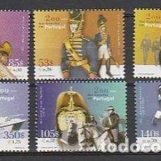 Sellos: PORTUGAL ** & 200 AÑOS DE LA GUARDIA EN PORTUGAL 2001 (2549). Lote 271581133
