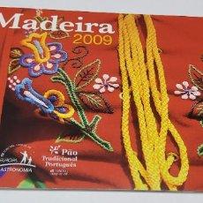 Sellos: CARNET ESPECIAL DE MADEIRA DEL 2009.CON PRUEBA LUJO EUROPA.NUEVA SIN FIJASELLOS.. Lote 272034028