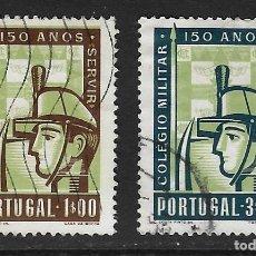 Sellos: PORTUGAL. YVERT NSº 811/12 USADOS Y DEFECTUOSOS. Lote 276966323