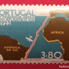Sellos: SELLO 1972 50 ANIVERSARIO PRIMERA TRAVESÍA AÉREA ATLÁNTICO SUR NUEVO. Lote 277142308