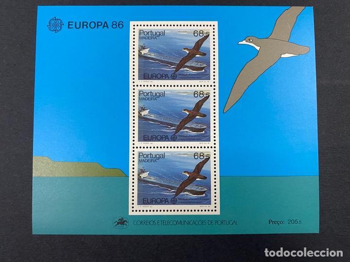 PORTUGAL - MADEIRA, 1986. YVERT HB 51. EUROPA 86 - PROTECCION NATURALEZA. NUEVO. SIN FIJASELLOS. (Sellos - Extranjero - Europa - Portugal)