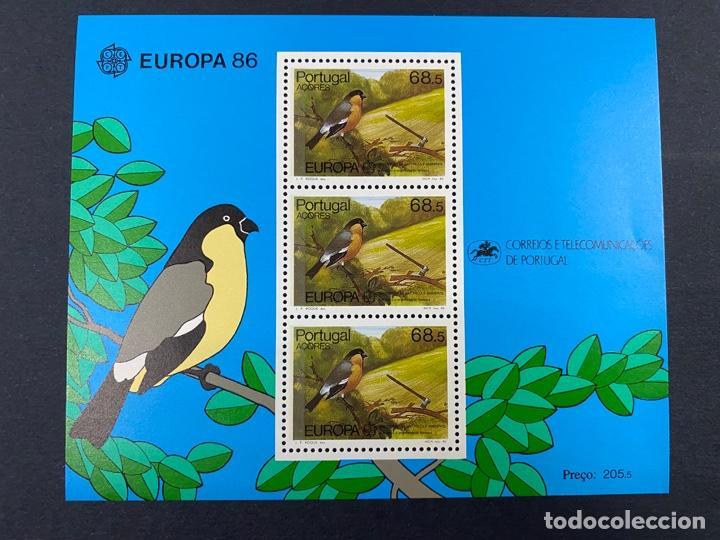 PORTUGAL - AZORES/AÇORES,1986.YVERT HB 51. EUROPA 86 - PROTECCION NATURALEZA. NUEVO. SIN FIJASELLOS. (Sellos - Extranjero - Europa - Portugal)
