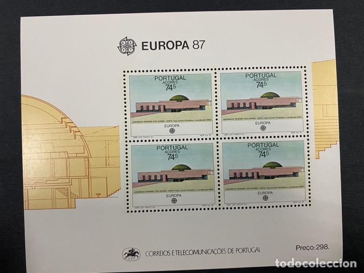 PORTUGAL - AZORES/AÇORES, 1987. YVERT HB 57. EUROPA 87. NUEVO. SIN FIJASELLOS. (Sellos - Extranjero - Europa - Portugal)