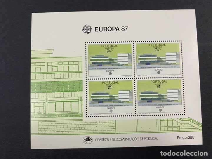PORTUGAL - MADEIRA, 1987. YVERT HB 57. EUROPA 87. NUEVO. SIN FIJASELLOS. (Sellos - Extranjero - Europa - Portugal)