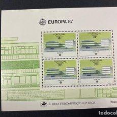 Sellos: PORTUGAL - MADEIRA, 1987. YVERT HB 57. EUROPA 87. NUEVO. SIN FIJASELLOS.. Lote 277441193