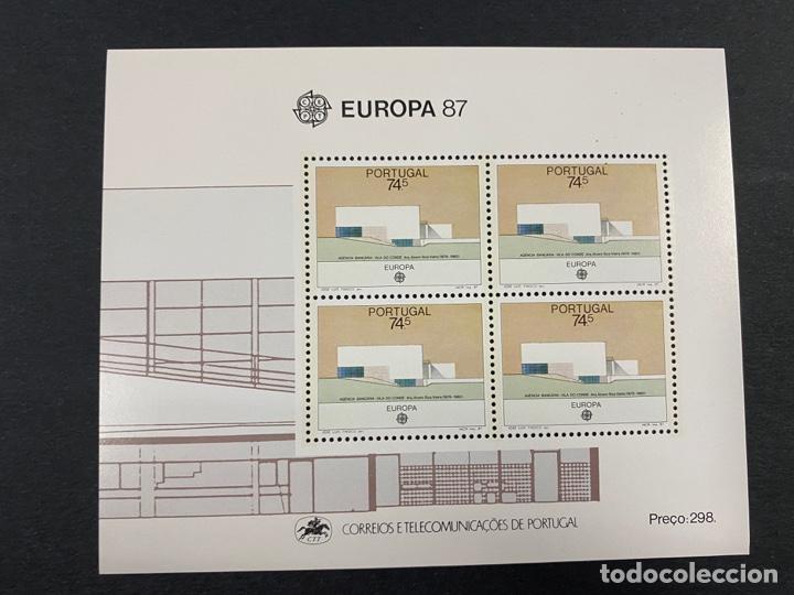 PORTUGAL, 1987. YVERT HB 57. EUROPA 87. NUEVO. SIN FIJASELLOS. (Sellos - Extranjero - Europa - Portugal)