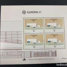 Sellos: PORTUGAL, 1987. YVERT HB 57. EUROPA 87. NUEVO. SIN FIJASELLOS.. Lote 277441348