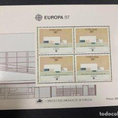 Sellos: PORTUGAL, 1987. YVERT HB 57. EUROPA 87. NUEVO. SIN FIJASELLOS.. Lote 277441463