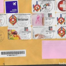 Sellos: CARTA CERTIFICADA DE PORTUGAL, FOTO ORIGINAL. Lote 278366388