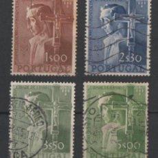 Sellos: PORTUGAL 1954 CIUDAD DE SÃO PAULO COMPLETA USADA * LEER DESCRIPCION. Lote 278530978