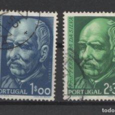 Sellos: PORTUGAL 1956 FERREIRA DA SILVA COMPLETA USADA * LEER DESCRIPCION. Lote 278531148