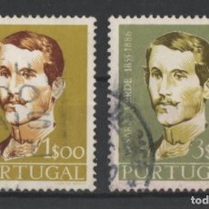 Sellos: PORTUGAL 1958 CESARIO VERDE COMPLETA USADA * LEER DESCRIPCION. Lote 278531178