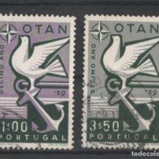 Sellos: PORTUGAL 1960 OTAN COMPLETA USADA * LEER DESCRIPCION. Lote 278531543