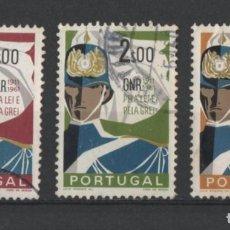 Sellos: PORTUGAL 1962 GUARDIA NACIONAL REPUBLICANA COMPLETA USADA * LEER DESCRIPCION. Lote 278531638