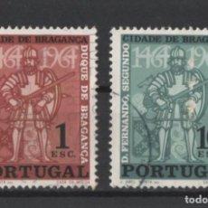Sellos: PORTUGAL 1965 CIUDAD BRAGANZA COMPLETA USADA * LEER DESCRIPCION. Lote 278531743