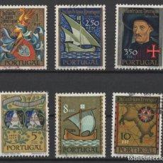 Sellos: PORTUGAL 1960 INFANTE D. HENRIQUE COMPLETA USADA * LEER DESCRIPCION. Lote 278531938