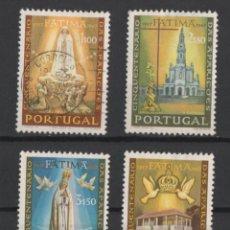 Sellos: PORTUGAL 1967 FATIMA COMPLETA USADA CON DEFECTO * LEER DESCRIPCION. Lote 278532088