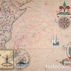 Sellos: PORTUGAL & MAXI, CARTOGRAFÍA PORTUGUESA, AUTOR ANÓNIMO, LISBOA 1997 (186). Lote 278581058