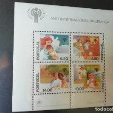 Sellos: BLOCO 28 - 1979 - ANO INTERNACIONAL DA CRIANZA - SELLOS DE PORTUGAL. Lote 278698913