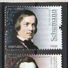 Sellos: PORTUGAL ** & BICENTENARIO DEL NACIMIENTO DE ROBERT SCHUMANN Y CHOPIN 1810-2010 (3467). Lote 278815988