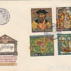 Sellos: PORTUGAL & FDC V CENTENARIO DEL NACIMIENTO DE VASCO DA GAMA, LISBOA 1969 (1059). Lote 278819888
