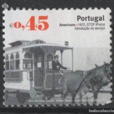 Sellos: PORTUGAL 2007 TRANSPORTE PUBLICO SELLO USADO * LEER DESCRIPCION. Lote 279518453