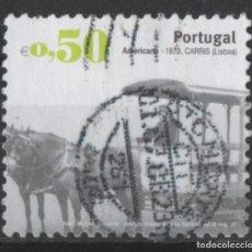 Sellos: PORTUGAL 2007 TRANSPORTE PUBLICO SELLO USADO * LEER DESCRIPCION. Lote 279518473