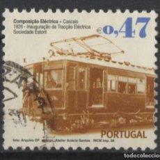 Sellos: PORTUGAL 2008 TRANSPORTE PUBLICO SELLO USADO * LEER DESCRIPCION. Lote 279518508